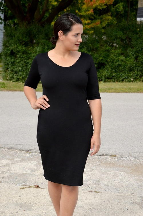 Chic Little Black Dress Pattern