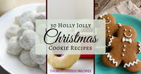 30 Holly Jolly Christmas Cookie Recipes