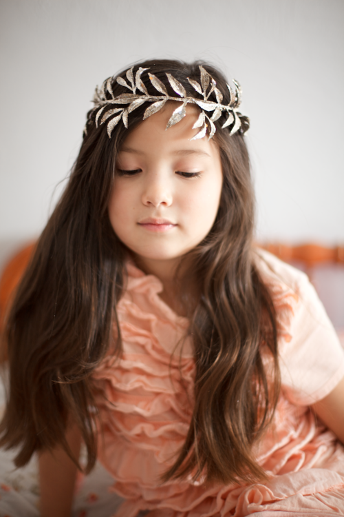 Adorable Forest Princess DIY Crown