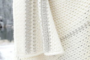Mod Heirloom Crochet Blanket
