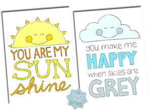 You Are My Sunshine Coloring Pages Favecrafts Com