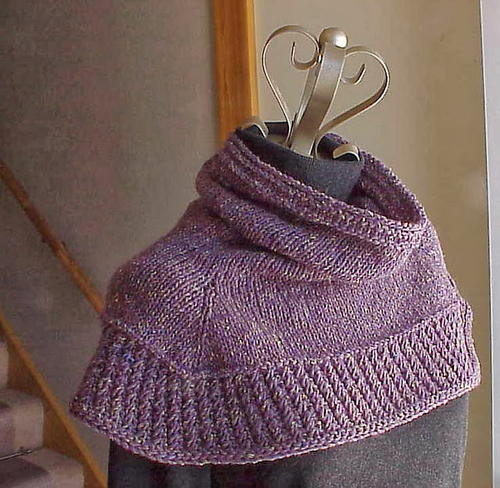 Soft Shoulder Knitted Cowl Favecrafts