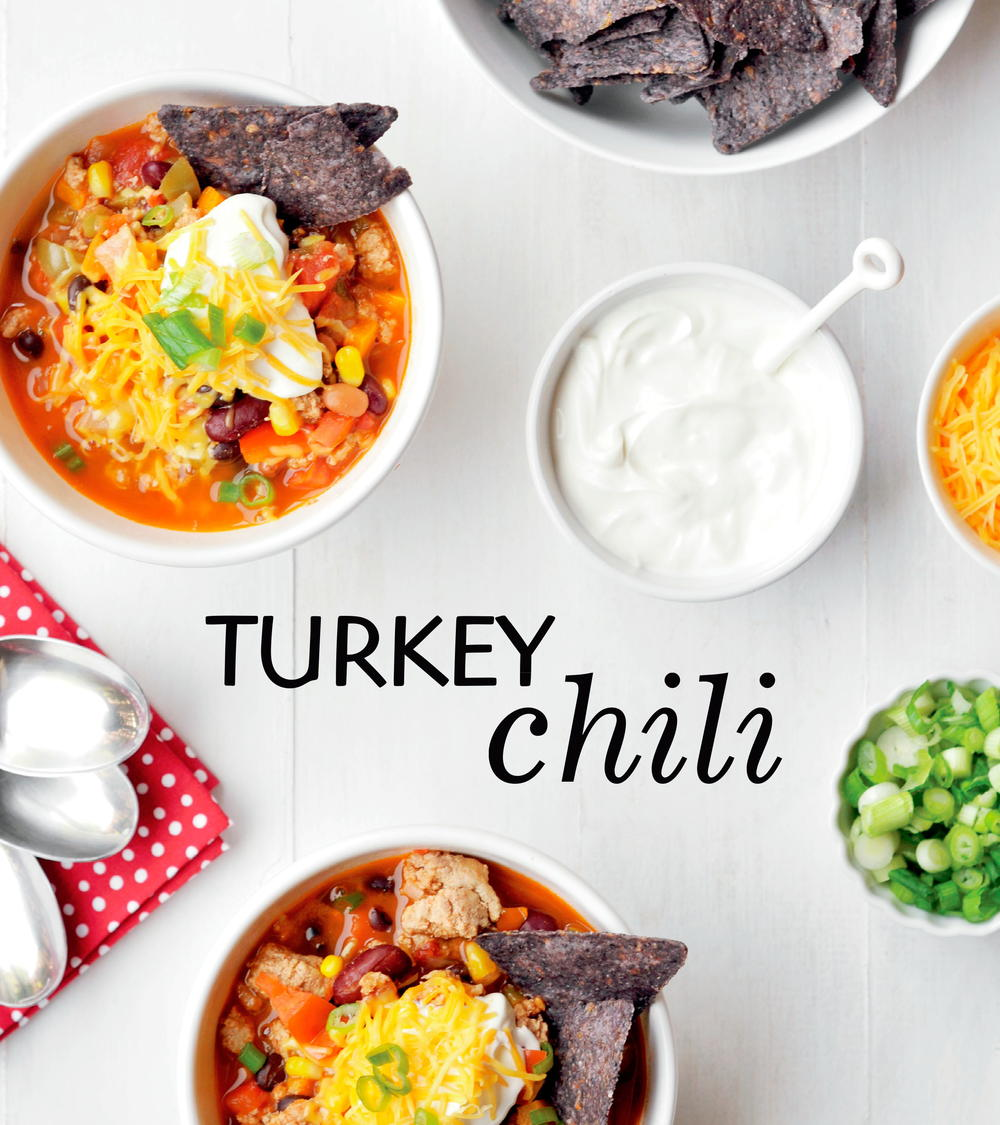 10 Easy Ground Turkey Recipes Chili Burgers Meatloaf: Turkey Chili