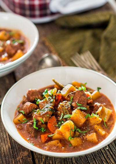 Moms Country Comfort Beef Stew