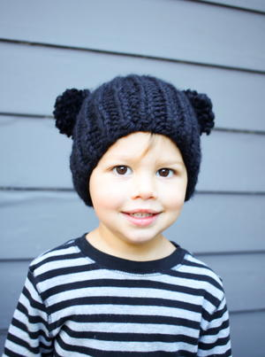 Easy Bear Knit Beanie