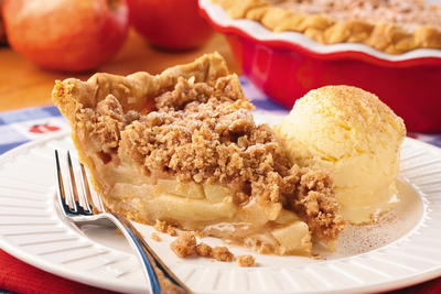 Dutch Apple Crumb Pie