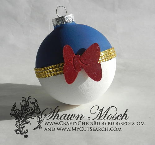 Donald Duck Inspired Ornament