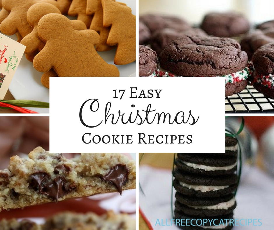 17 easy christmas cookies for hosting a christmas cookie exchange 17 easy christmas cookies for hosting a christmas cookie exchange party allfreecopycatrecipes solutioingenieria Gallery