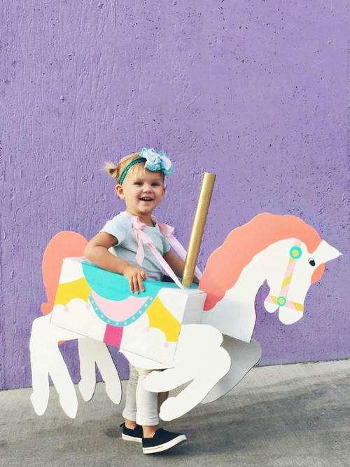 how to make a horse costume for kids