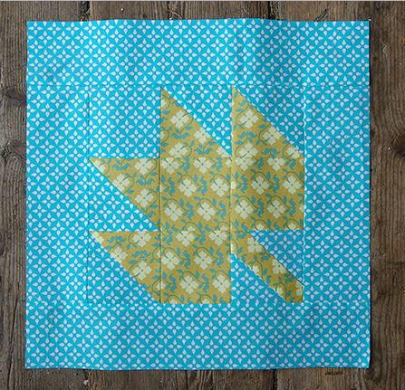 Canadian Maple Leaf Block Favequilts