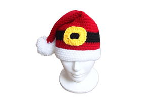Santa's Favorite Crochet Hat