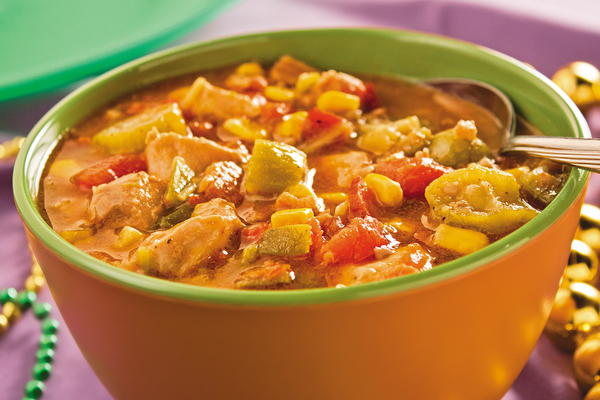 Hearty Chicken Gumbo