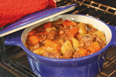 Wintry Baked Beef Stew