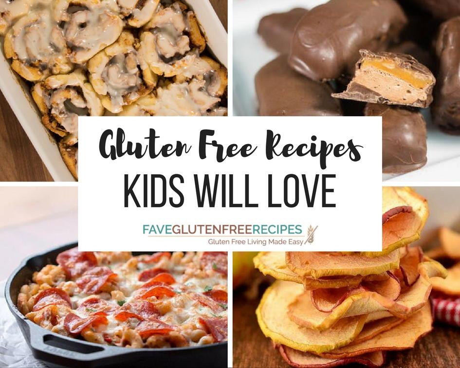 35 Gluten Free Recipes Kids Will Love