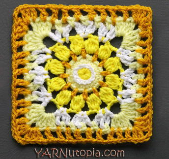 Sublime Light Granny Square