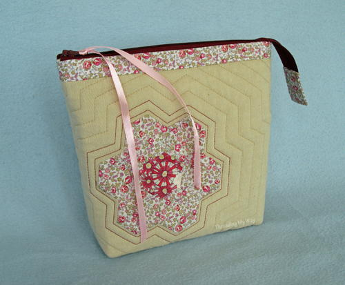 Liberty Hexagon Zippered Pouch
