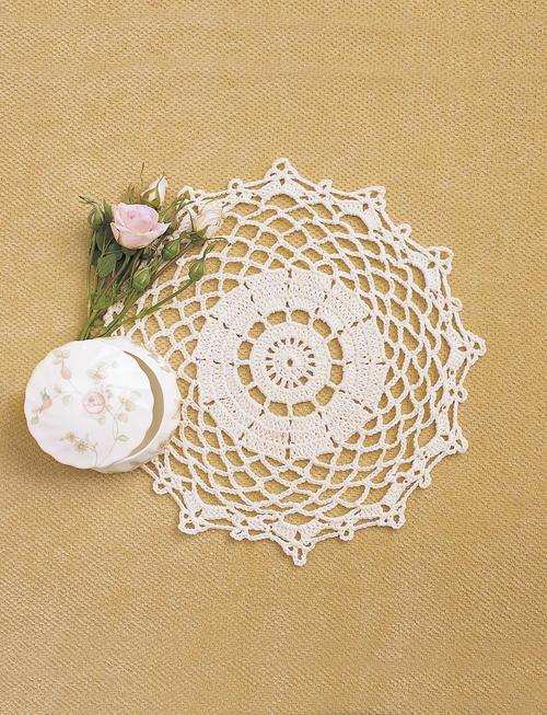 Pretty Doily Crochet Pattern | FaveCrafts.com