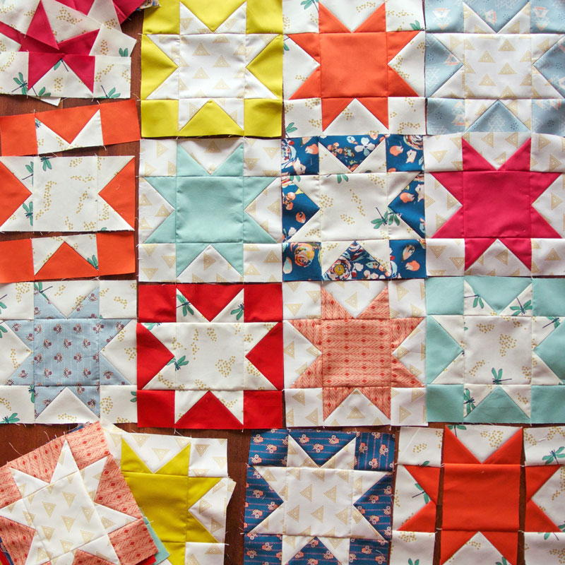 Reverse Sawtooth Star Block Pattern Favequilts