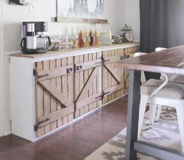 How To Make A Kitchen Cabinet: Upcycled DIY Sideboard
