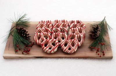 Christmas White Chocolate Pretzel Recipe