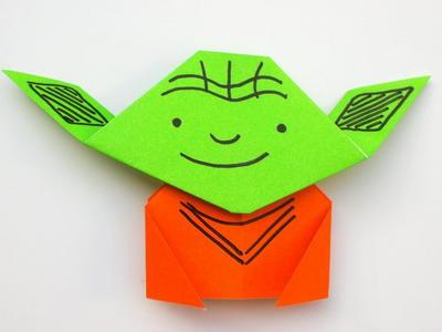 Easy Origami Yoda Allfreepapercrafts