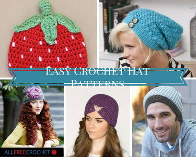 29 Easy Crochet Hat Patterns Allfreecrochet