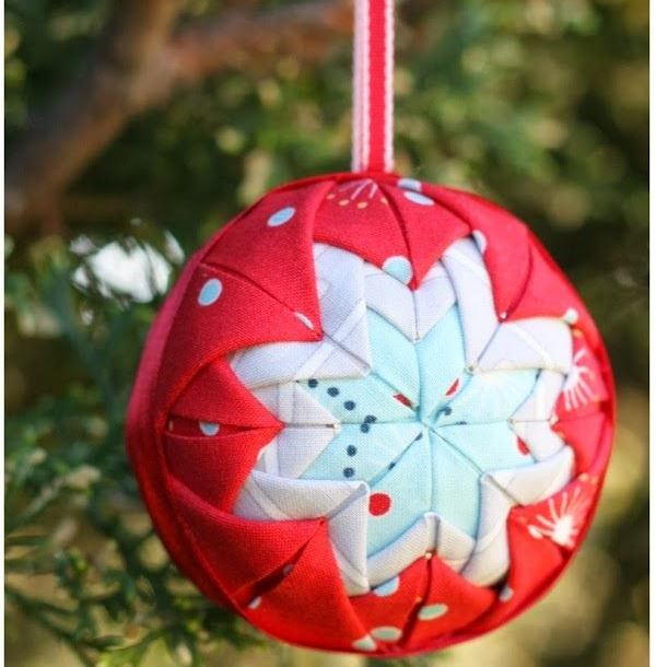 Holiday folded star ornament for All free holiday crafts
