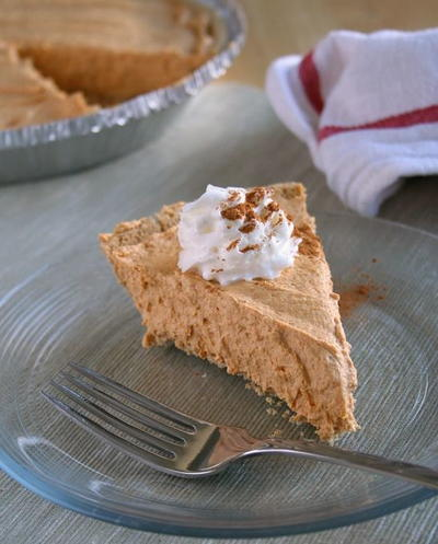Chiffon Pumpkin Pie Recipe