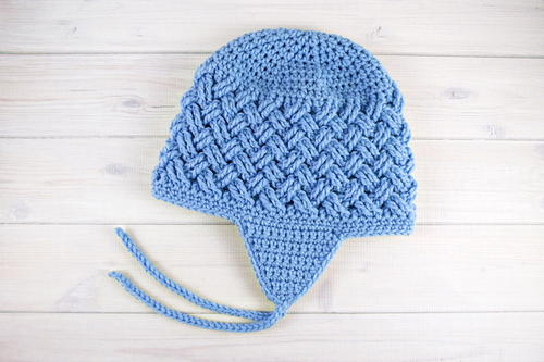 Celtic Dream Earflap Crochet Hat Allfreecrochet