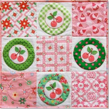 Wish You a Cherry Christmas Pattern