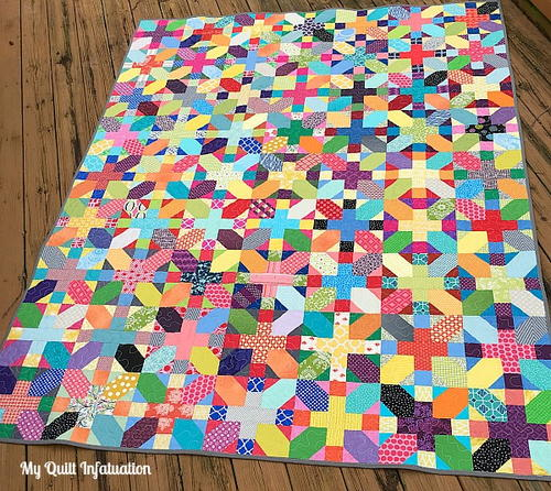 Scrappy X Plus Quilt Tutorial Favequilts Com