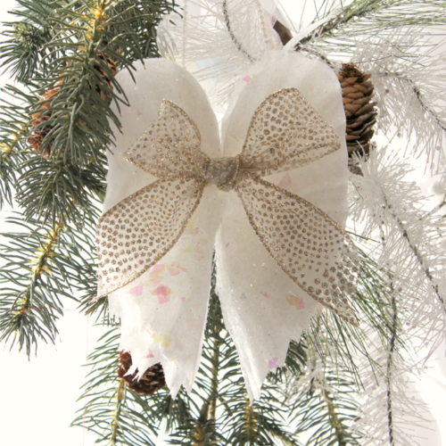 Beautiful Sparkling DIY Angel Wings Ornament