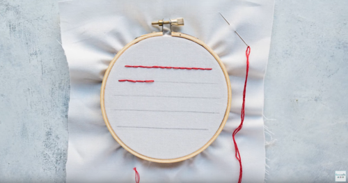 How to Sew the Straight Stitch