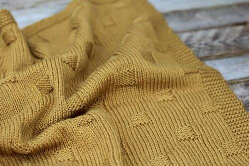 Bryn Knit Baby Blanket Allfreeknitting