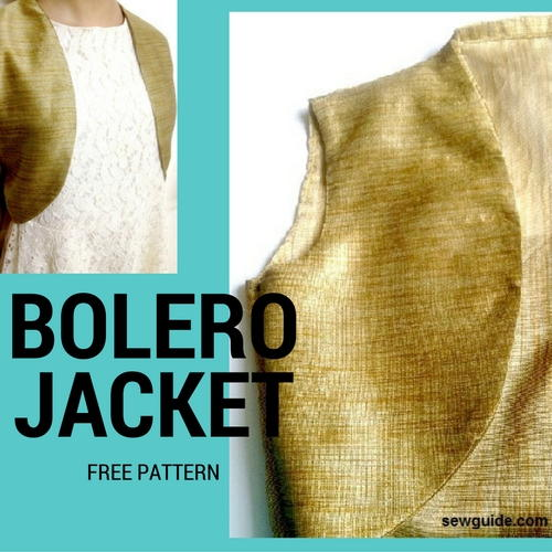 Free Bolero Sewing Pattern | AllFreeSewing.com
