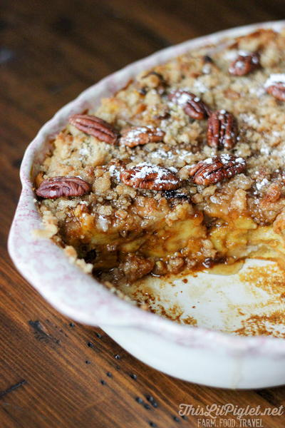 Pumpkin French Toast Bake