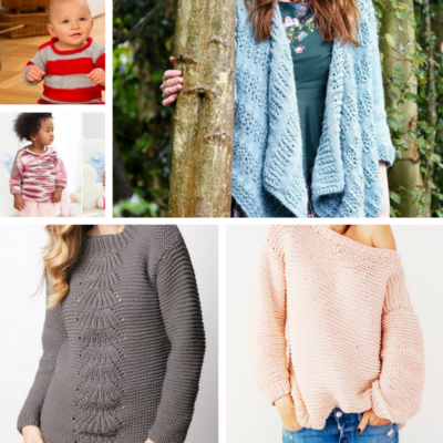 22 Knit Sweaters And Cardigans For Winter Allfreeknitting