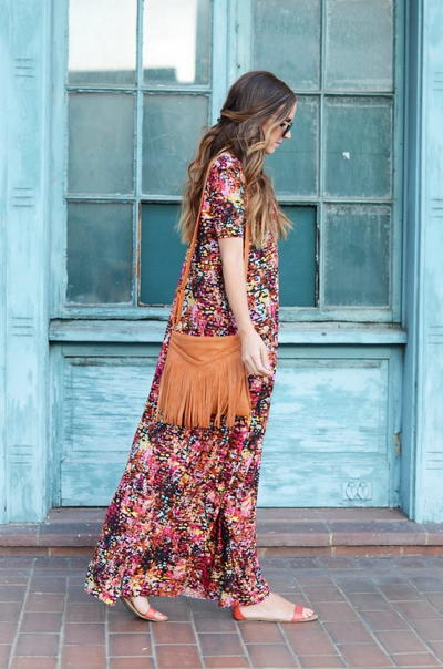 Boho Chic Maxi Dress Tutorial