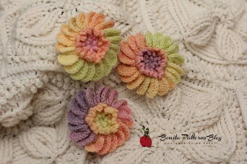 Blooming Crochet Flower
