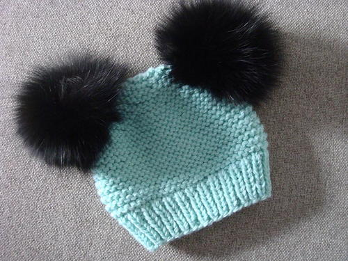 Ocean Top Knitted Baby Hat