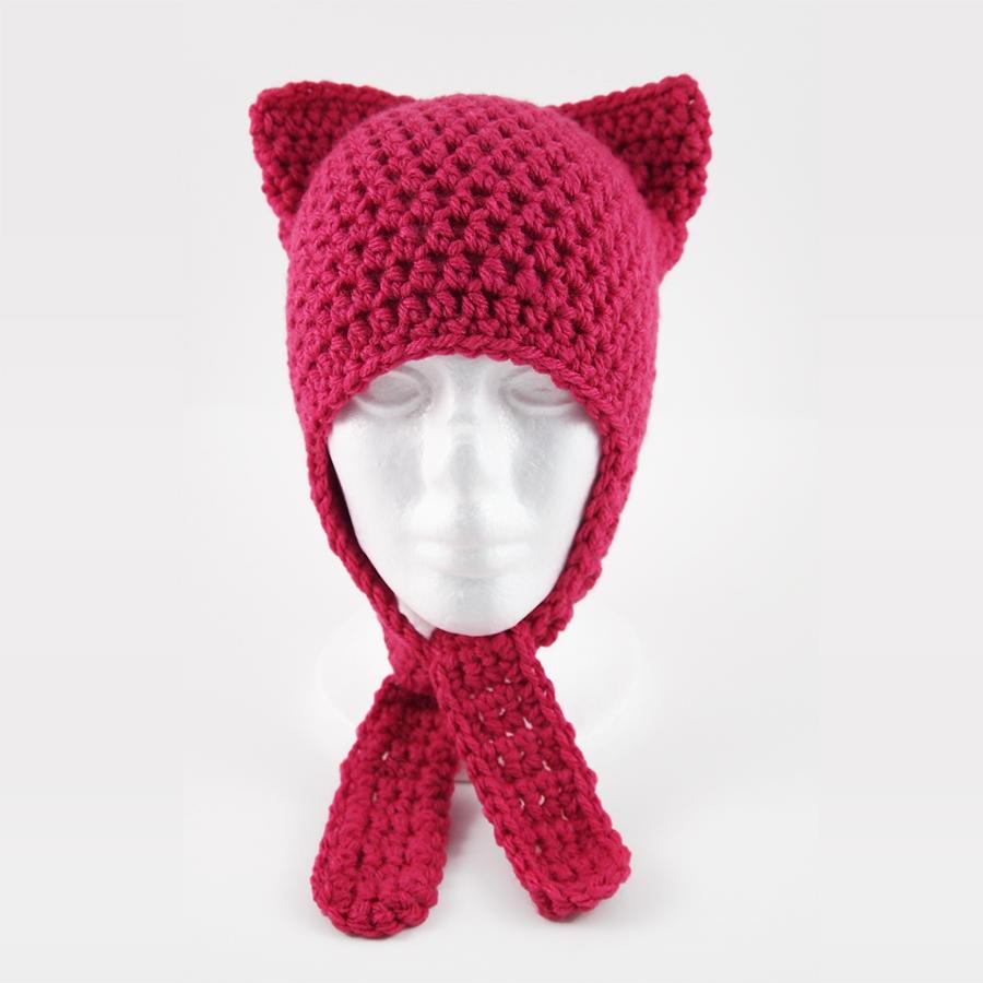 Cute And Easy Crochet Cat Hat Allfreecrochet
