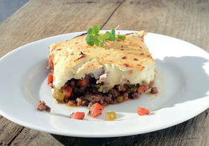 Cauliflower Paleo Shepherd's Pie