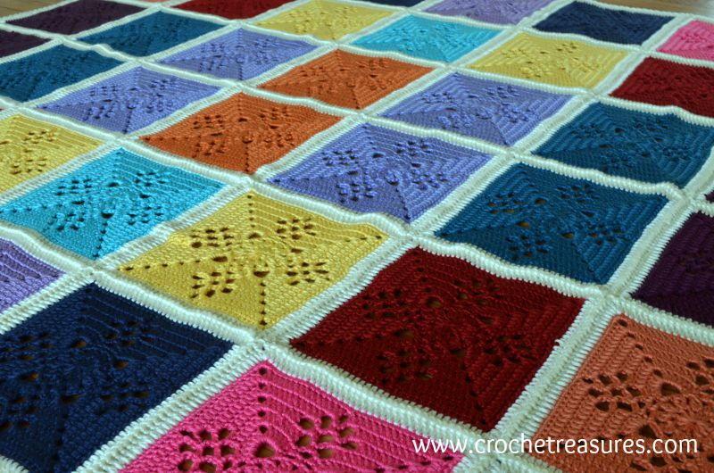 Victorian Lattice Crochet Afghan Allfreecrochetafghanpatterns