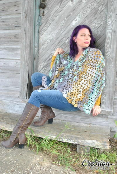 23 Crochet Patterns for Shawls and Wraps | FaveCrafts.com