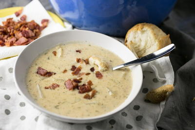 Ranch Cheddar Potato Soup