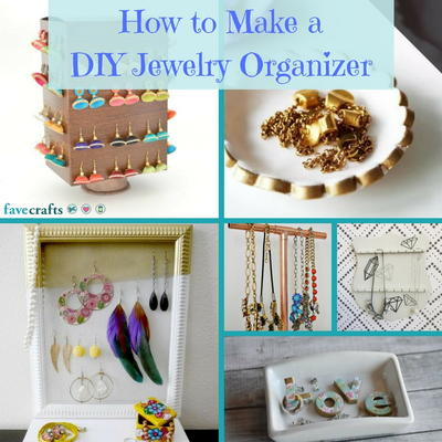 How to Make a DIY Jewelry Organizer FaveCraftscom