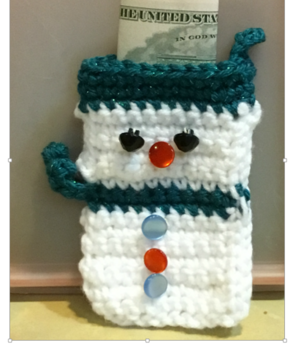 Snowman Treat Ornament