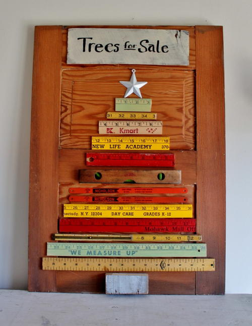 Trash to Treasure Vintage Christmas Tree