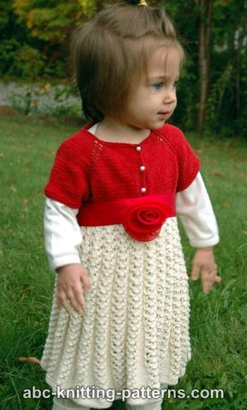Ravishing Rose Toddler Christmas Dress