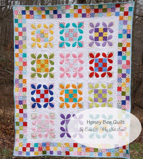 Honey Bee Quilt Tutorial